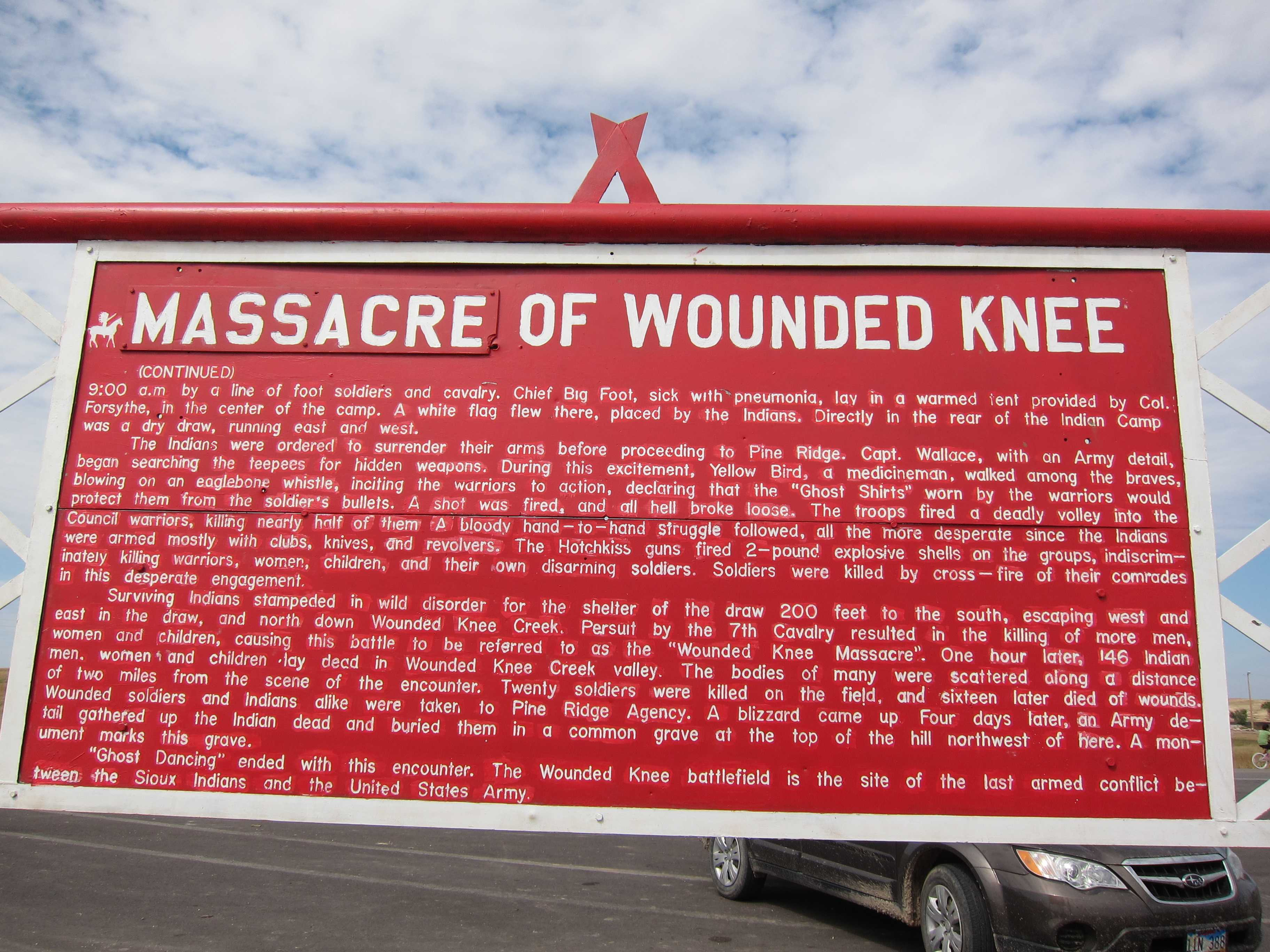 wounded knee dating Bury my heart at wounded knee (film) from wikipedia, the free  dating of clovis materials has been by association with animal bones and by the use of carbon.